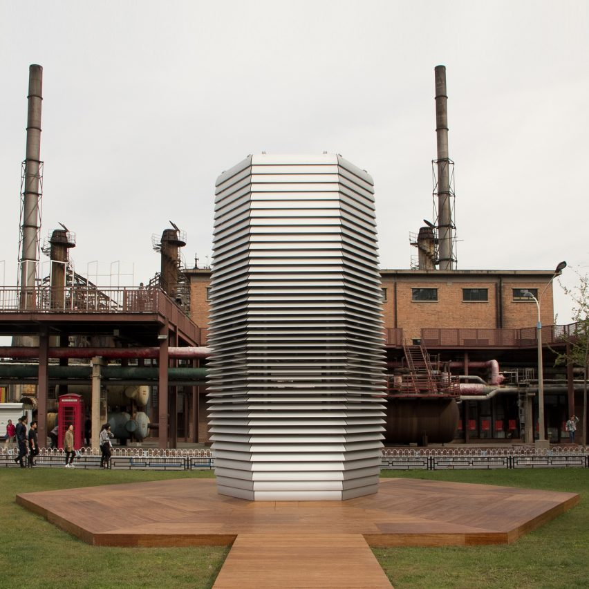 Smog free tower in Beijing