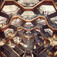 "Heatherwick unveils staircase structure as ""centrepiece"" for New York's Hudson Yards"