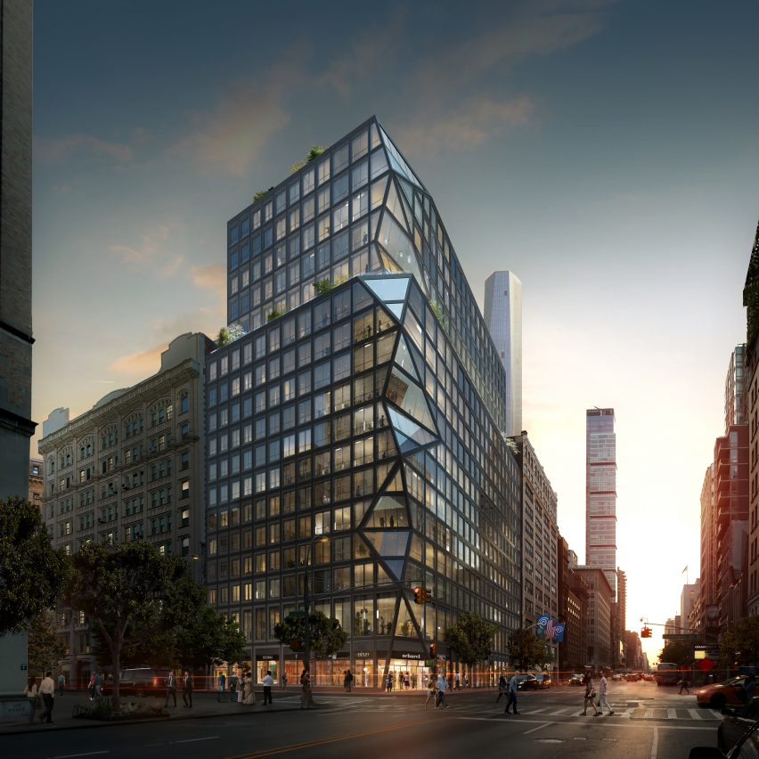 OMA reveals its first residential tower for New York