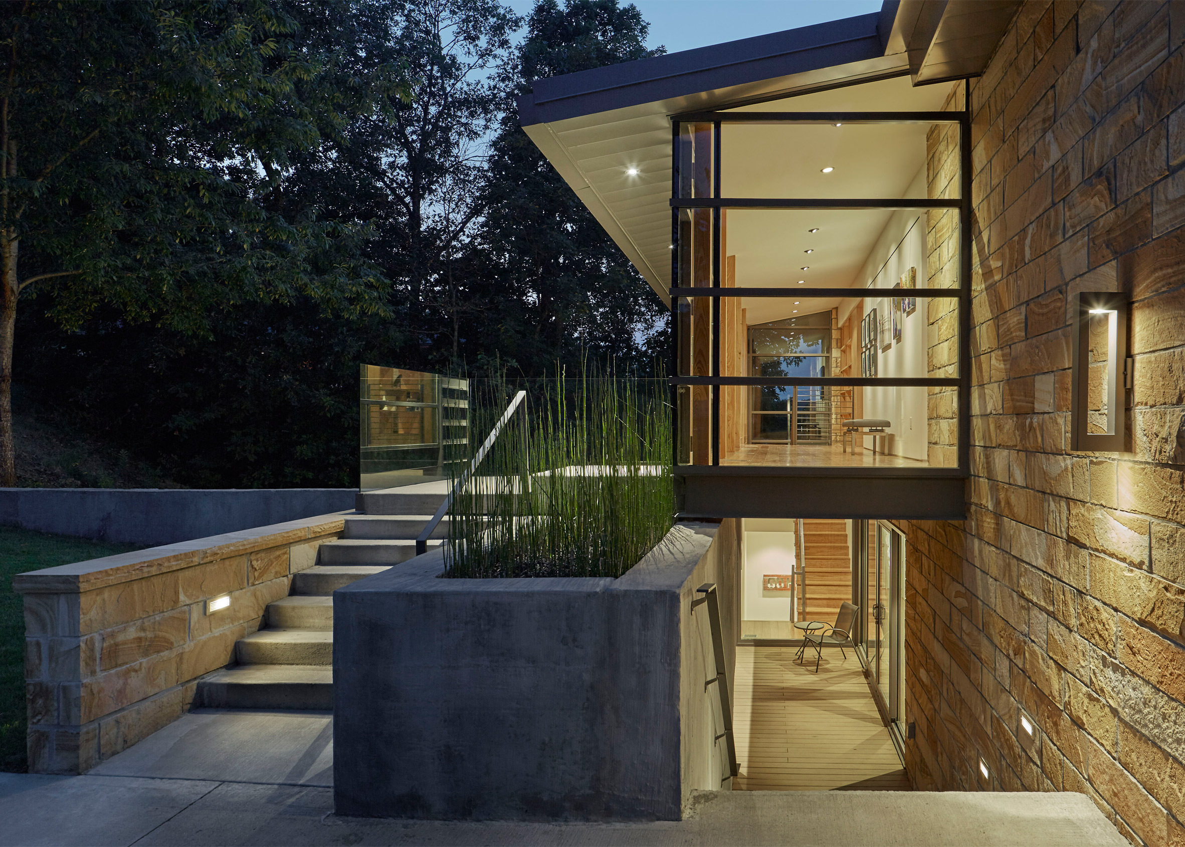 Two Rivers Point Residence by Polk Stanley Wilcox Architects BASE