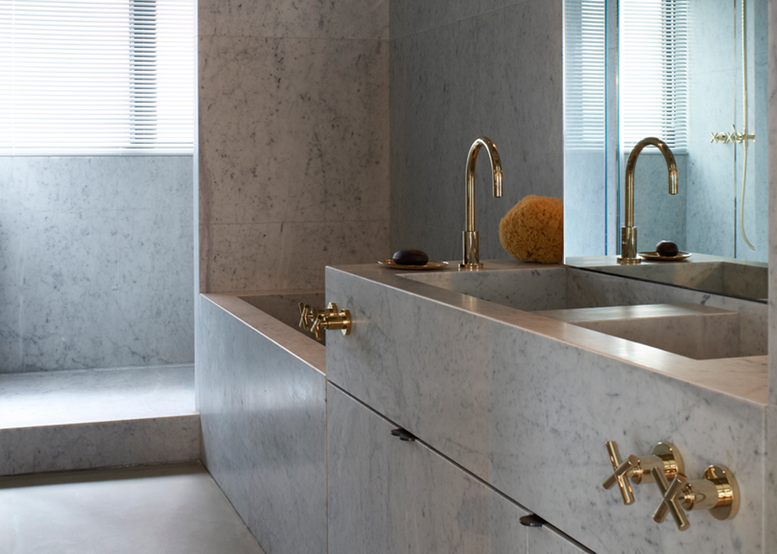 TwoTwoSix Hollywood Road by Studioilse is one of the 10 most popular marble interiors on Pinterest