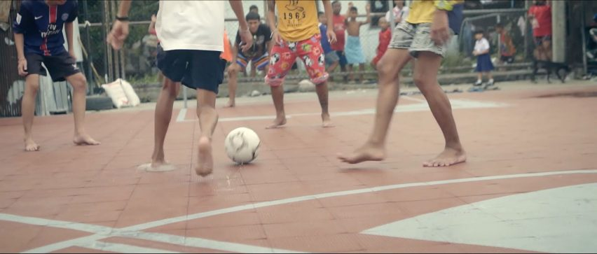 Unusual Football Pitch by AP Thai