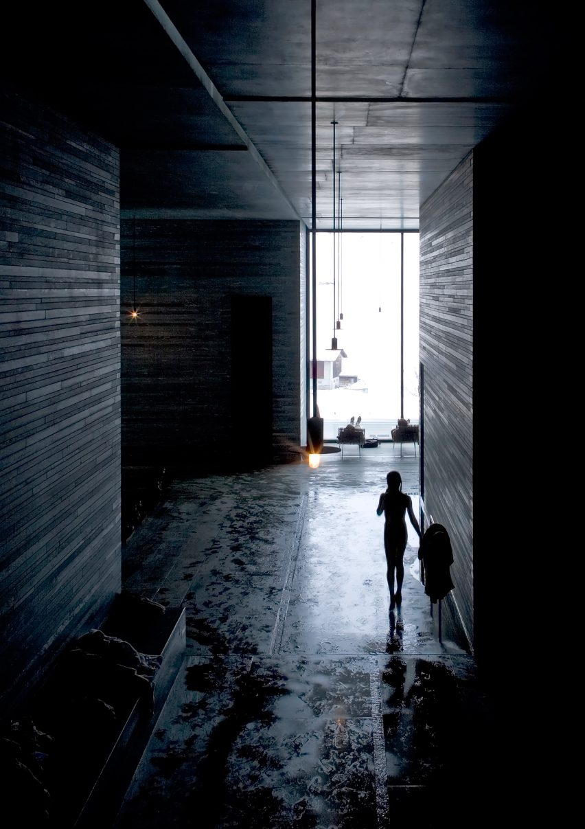 Connu Peter Zumthor's Therme Vals spa photographed by Fernando Guerra MU32