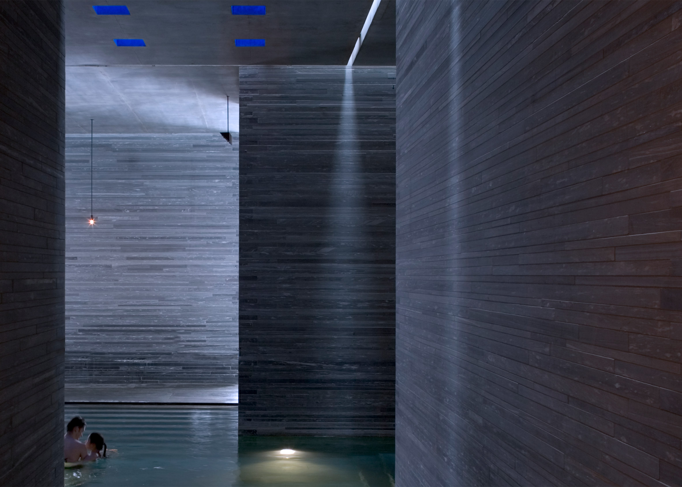 Vals by Peter Zumthor is part of Jane Withers' installation Soak Steam Dream at the London Design Festival 2016