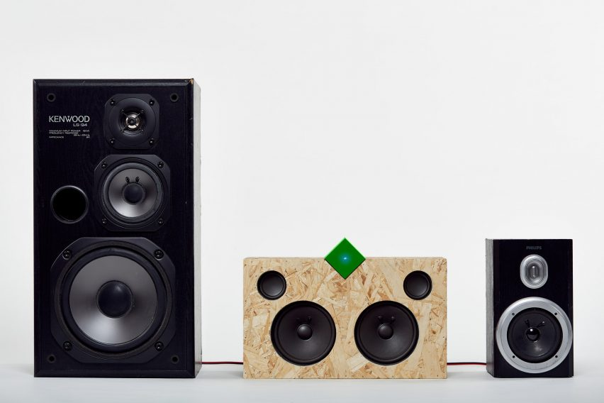 Paul Cocksedge reveals bluetooth Vamp Stereo and speaker system for #saveaspeaker campaign