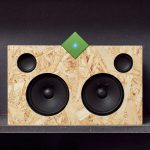 Paul Cocksedge's Vamp Stereo plays music wirelessly on any two old speakers