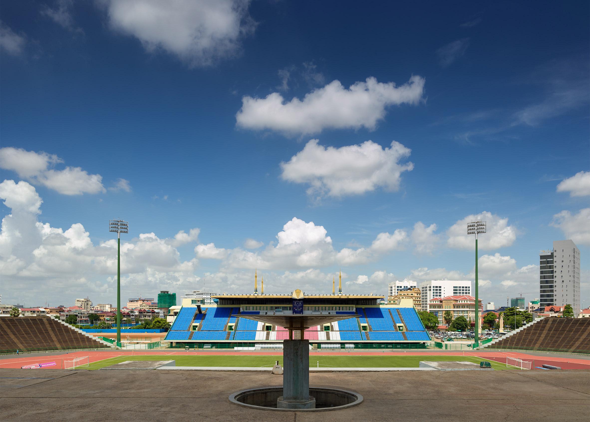 The National Olympic Stadium by Van Molyvann