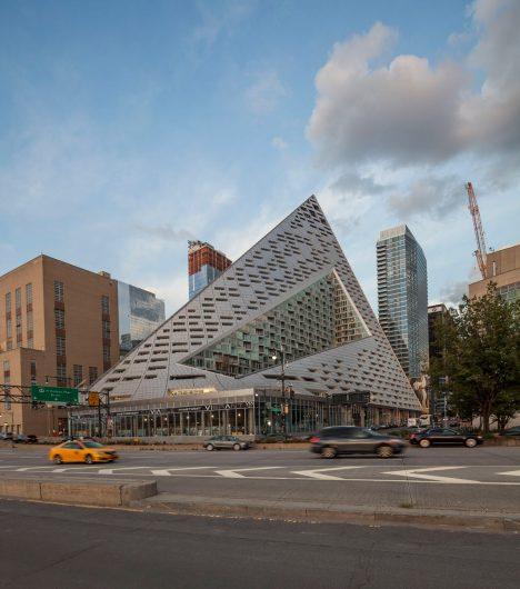 "Big Apartments: BIG's VIA 57 West ""courtscraper"" In Manhattan Shown In New"