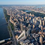 Iwan Baan photographs BIG's completed VIA 57 West tower in New York