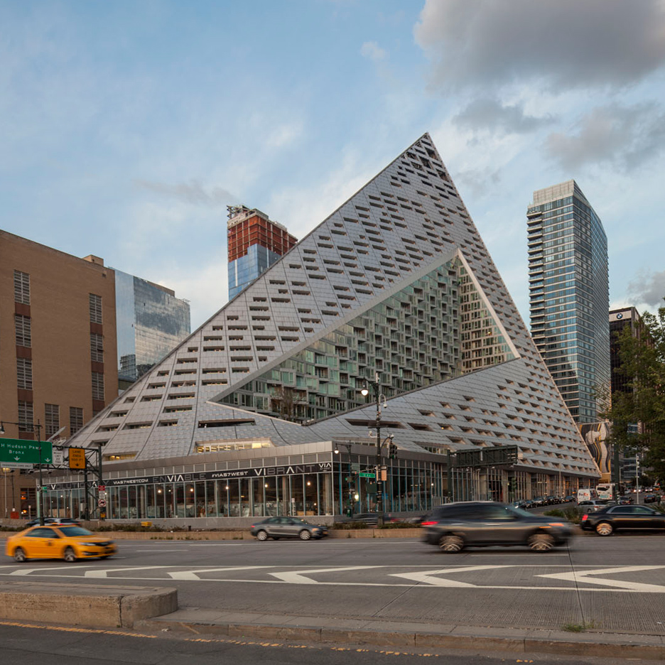 Big s via 57 west courtscraper in manhattan shown in new for Big bjarke ingels group