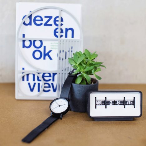 Competition: win a limited-edition V03D-Dezeen watch