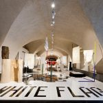 Italy presents 20 interpretations of the white flag for utopia-themed London Design Biennale