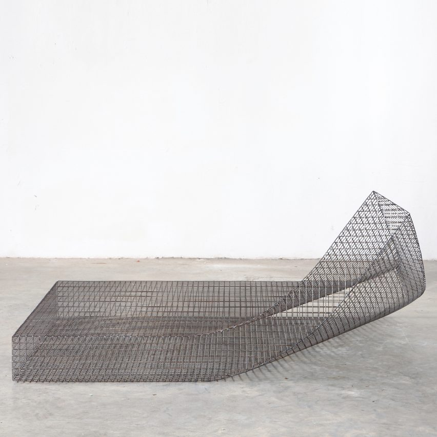 Wire by Muller van Severen is one of James Mair's top five minimalist furniture choices