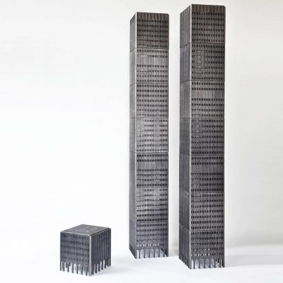 World Trade Centre towers by Rolf Bruggink are designed to collapse