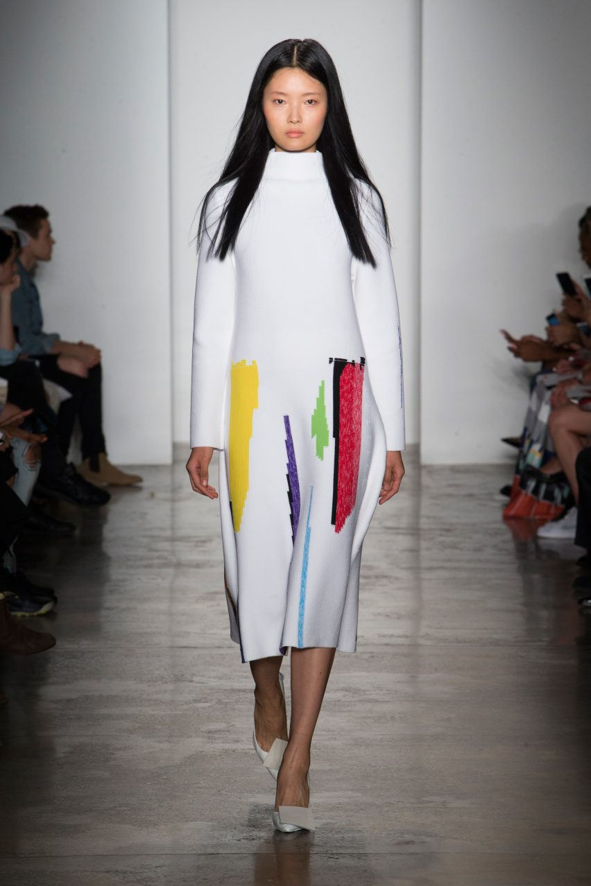 Xiang Gao's graduate fashion collection from Parsons School of Design