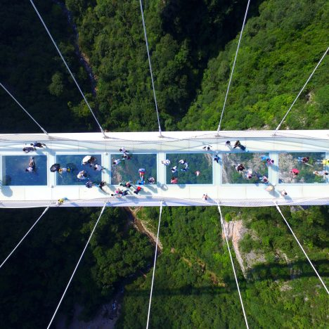 World's tallest and longest glass bridge closes after just two weeks