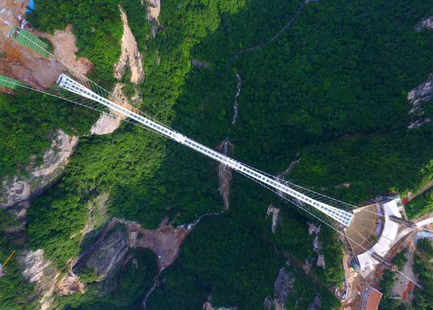 closure of worlds highest and longest glass bridge not a big deal says organiser - Zhangjiajie Glass Bridge