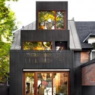 +tongtong uses grey and black zinc to transform Victorian home in Toronto