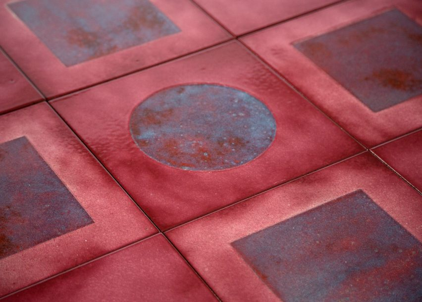 Faye Toogood Turns Lava Stone Into Fiery Magma Tile Collection