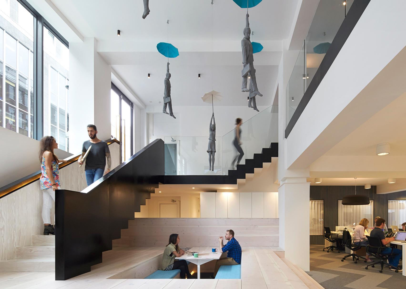 Fold 7 office by Paul Crofts Studio