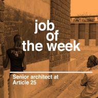 Job of the week: senior architect at Article 25