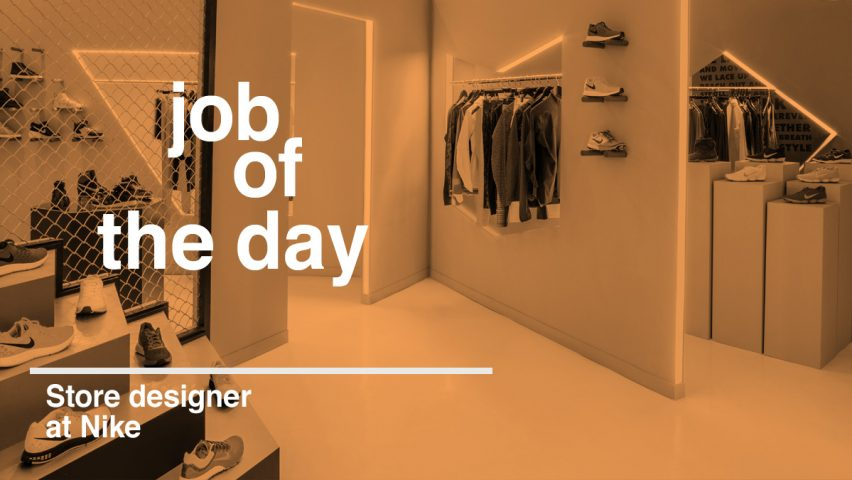 Job Of The Day Store Designer At Nike