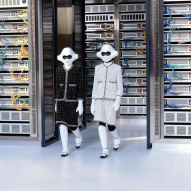 Robots walk the runway at Chanel's Spring Summer 2017 show