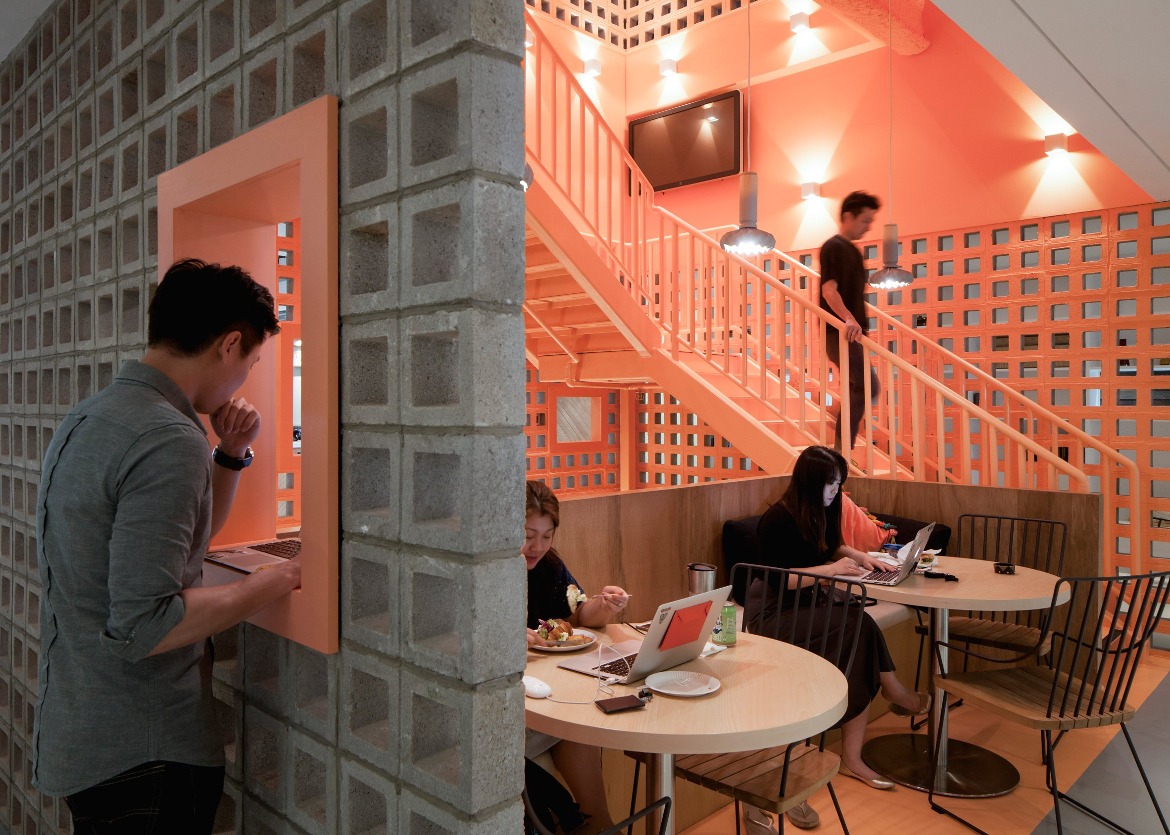 Airbnb Singapore office by Farm