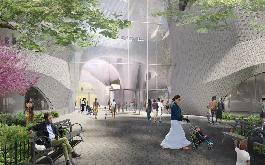American Museum of Natural History extension by Studio Gang