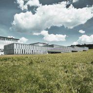 Züst Gübeli Gambetti adds staircase-shaped building to ETH Zurich university campus