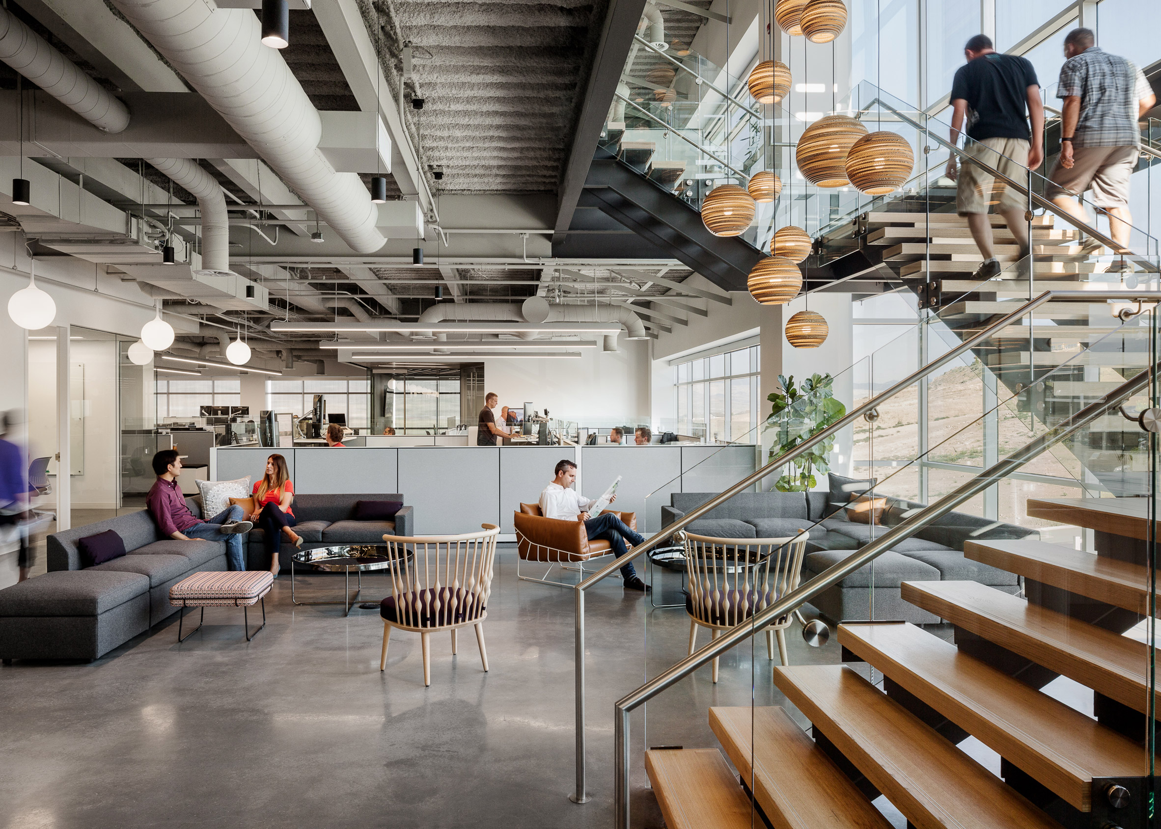Ancestry office by Rapt Studio
