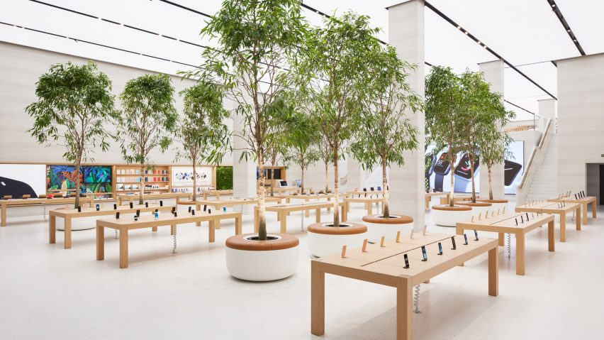 789f0b12d Apple unveils tree-filled Regent Street store by Foster + Partners