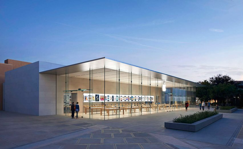 Apple store, Stanford by Bohlin Cywinski Jackson