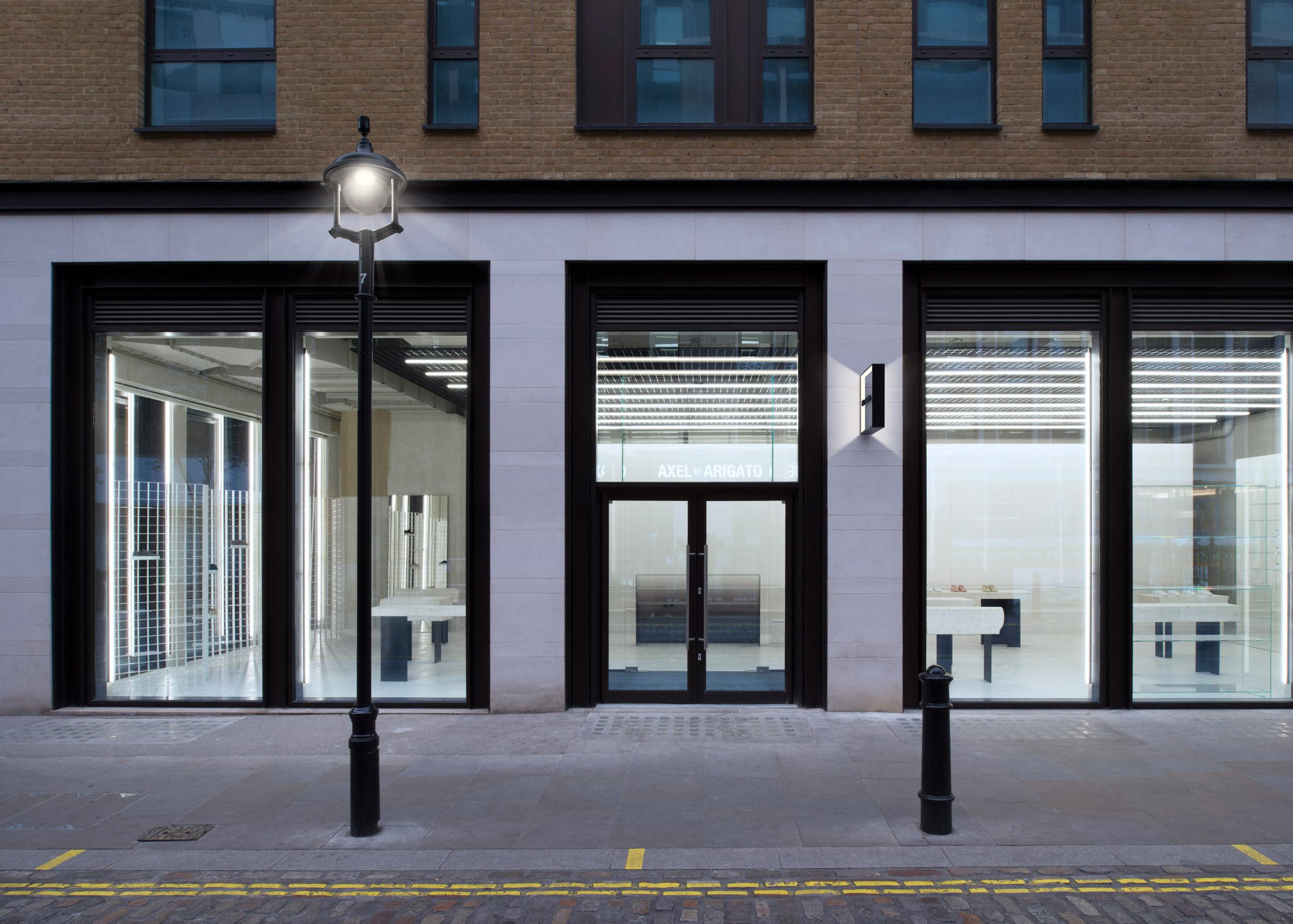 Axel Arigato store London by Christian Halleröd