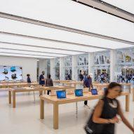 Bohlin Cywinski Jackson Apple store world trade centre