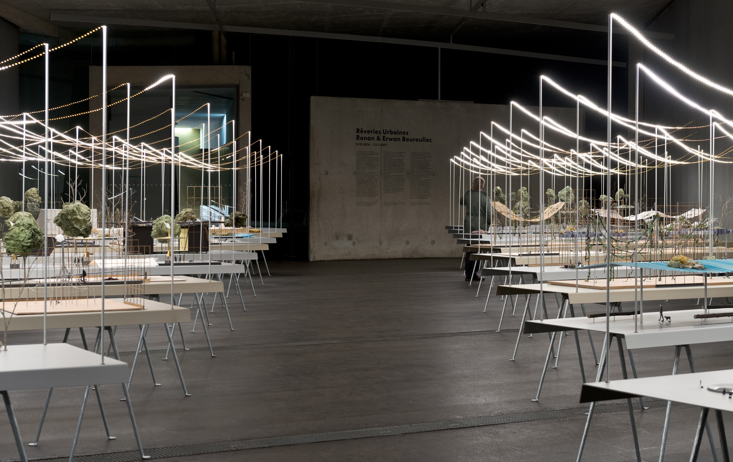 994efb7cd5561d Bouroullec brothers exhibit Utopian dioramas at Vitra Fire Station