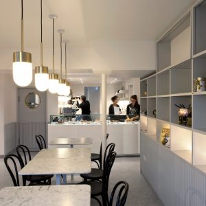 Cafe by vPPR Architects