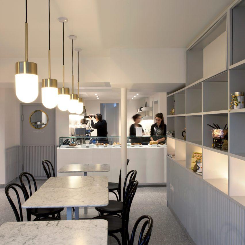 Cafe by vPPR Architects