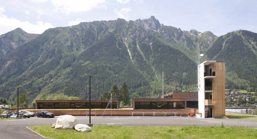 Chamonix Fire station by Studio Gardoni