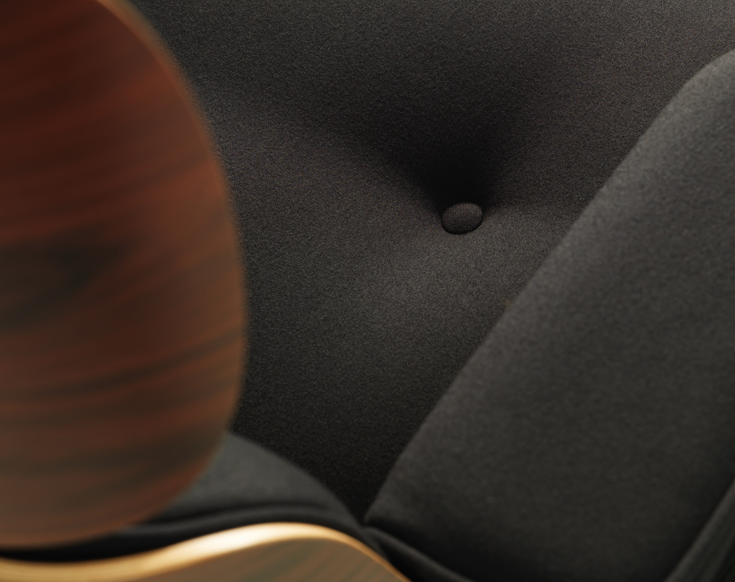 Vitra covers Eames Lounge Chair in fabric to celebrate 60th anniversary