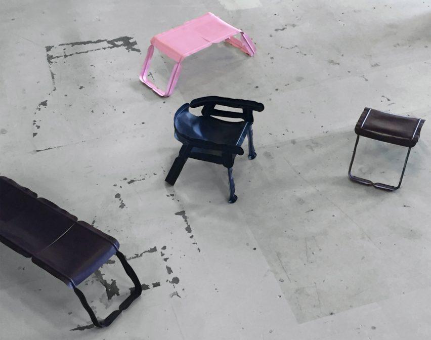 Christian Heikoop Glissade chair