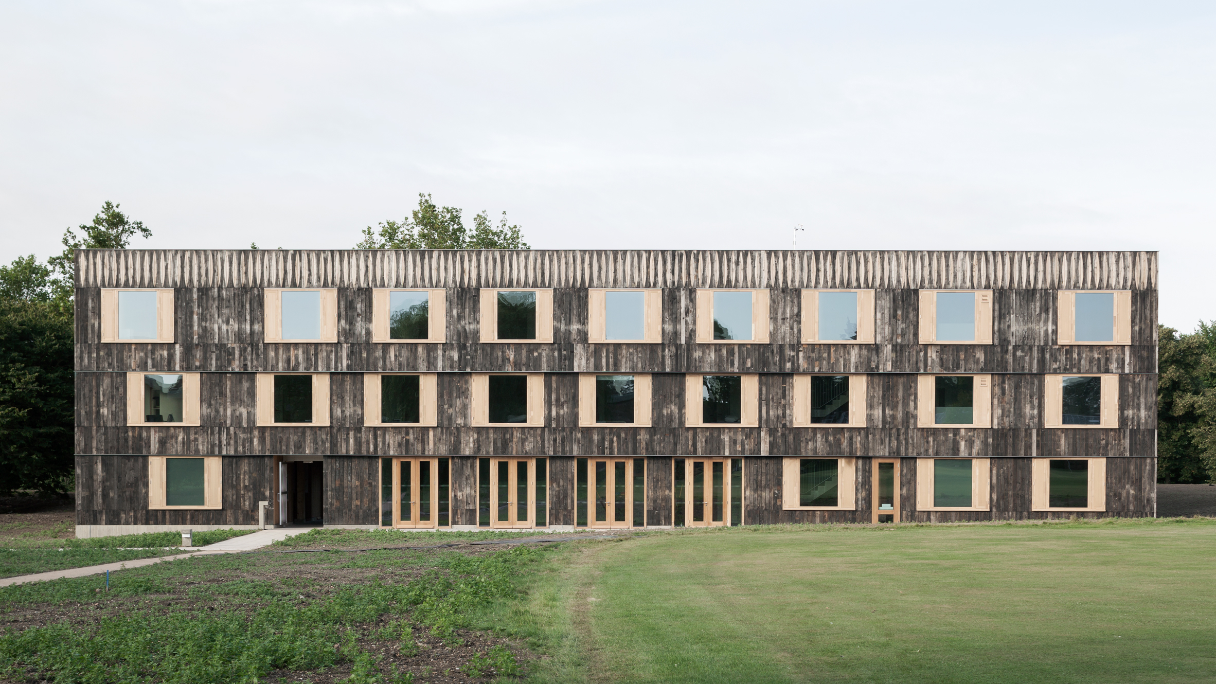 Churchill College by 6A