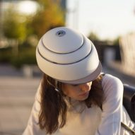Closca creates accessories for folding Fuga helmet to shield cyclists from the cold and dark