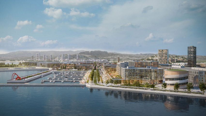 David Adjaye to masterplan San Francisco Shipyard