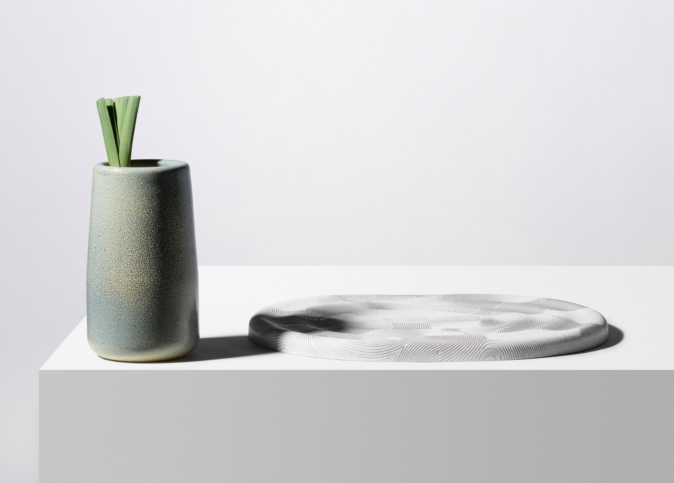 Dimitri Bähler designs range of irregular ceramic vessels