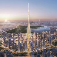 Calatrava's Dubai Creek observation tower breaks ground