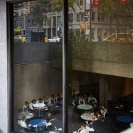 The Flora restaurant and coffee bar in the Met Breuer museum