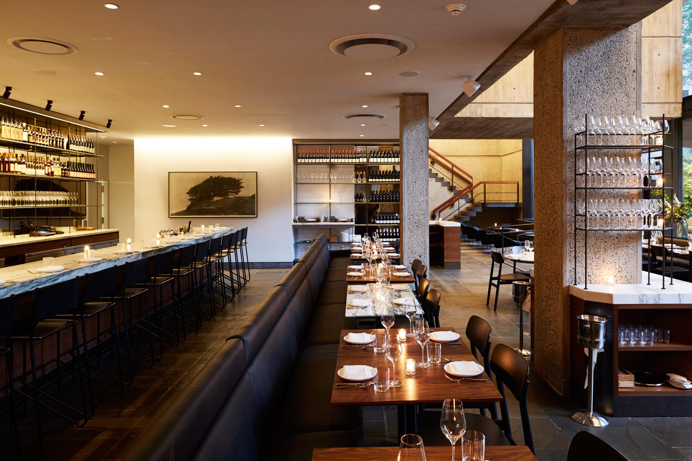 Restaurant and coffee bar open inside brutalist Met Breuer museum