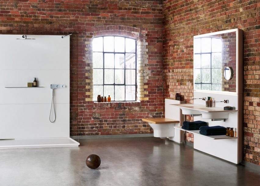 Foster + Partners designs first bathroom range for Porcelanosa