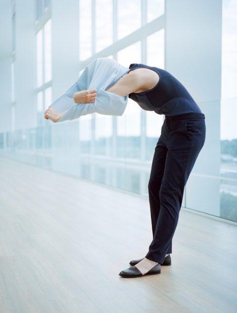 Pauline van Dongen designs clothes that correct your posture
